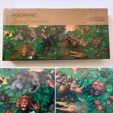 JUNGLESCAPE ~ Springbok Panoramic Family/Children Jungle Animals 700 pc~ SEALED