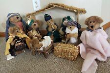Boyds Bears Judith G Plush Bear Nativity 1998