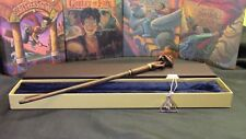 Harry Potter - Death Eater Wand w/ FREE Deathly Hallow Necklace