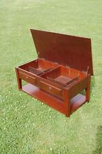 Occasional Table - Lift Up Lid - Two Storage Compartments & Shelf  - Project??