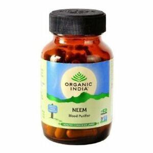 Organic India Neem 60 Capsules (Pack of 3) Free Shipping