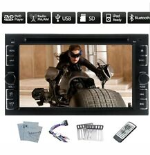 Universal 6.2'' In-dash Car DVD CD Player Double 2 Din Car Stereo Audio...
