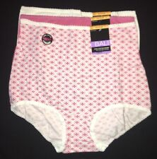 Bali DFV332 Cool Cotton Skamp Full Coverage Comfort Brief Panty L/7 3 Pairs