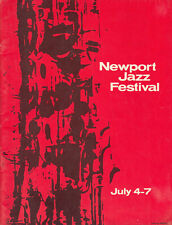 NEWPORT JAZZ FESTIVAL PROGRAM - 1963