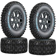 Duratrax DTXC3674 Lockup SC Tires / Wheels C2 Mounted Associated SC10 4x4