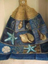 Crochet (Seashells) Kitchen Towels ~ **Gift Idea