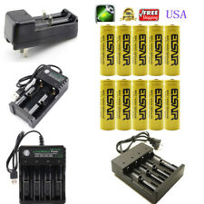 USA 2800mAh 14500 Battery 3.7v li-ion Rechargeable Batteries With Smart charger