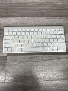 Genuine OEM Apple Wireless Bluetooth White & Silver Keyboard Model A1314