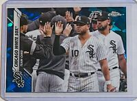 2020 TOPPS CHROME SAPPHIRE REFRACTOR #663 CHICAGO WHITE SOX TEAM CARD