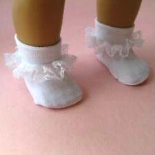 Socks, Lace trim fit 46 to 50mm shoes - 2 pair! For Little Darling, Ann Estelle