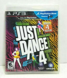 Just Dance 4 (Sony PlayStation 3, 2012) PS3 GAME COMPLETE BIEBER PINK RIHANNA ++