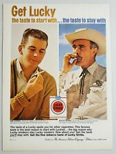 1962 Print Ad Lucky Strike Cigarettes Don Schwall Boston Red Sox Luckies