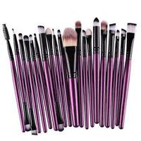 20PCS Stylish Makeup Brushes Kit Set Powder Foundation Eyeshadow Lip Brush Tool