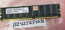 512MB DDR1 DDR PC3200E PC 3200E DDR1-400 400MHZ 184PIN UNBUFFERED ECC 32X8 2RX8