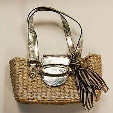 Guess Silver Glitter Handbag Purse EXCELLENT CONDITION