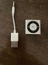 Apple iPod Shuffle 4th Generation 2GB Silver A1373 MC584LL/A testing working
