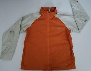 Burton Radar Jacket Snowboard Ski Orange & Off White Womens Sz M SAMPLE-Not Worn