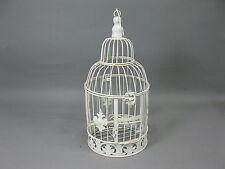 Nostalgie Métal Cage à Oiseaux Décoration 40 CM Shabby