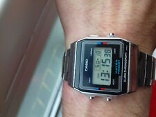 Casio VINTAGE(1986) A156W MODULE 590 WATCH RARE JAPAN U UHR COLLECTORS MONTRE