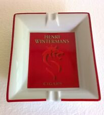 Cendrier porcelaine de Limoges ,Henri Wintermans Cigars