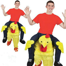 Chicken Trag mich Carry Me Ride On Mascot Piggy Back Oktoberfest party Costume