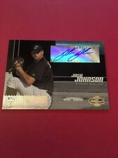 Josh Johnson Marlins 2006 Topps Co-Signers Rookie Auto #106