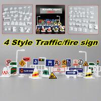 28PCS/SET Traffic Road Sign Educational Kids Play Baby Children Learnin AU1