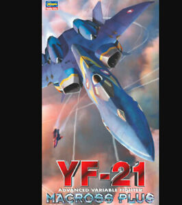 Hasegawa 1/72 Macross Plus YF-21 Advanced Variable Fighter