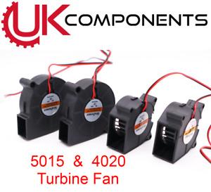 5015 4020 Turbine Blower Fan - 12V 24V - DC 3D Printer