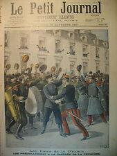 MUSIQUE RUSSIE Rgt  PREOBRAJENSKI DOMPTEUR PEZON OBSEQUES LE PETIT JOURNAL 1897