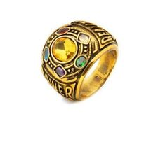 Avengers Thanos Infinity War Gauntlet Power Ring Jewelry Cosplay Fast Shipping