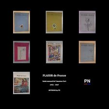 Plaisir de France revue mensuelle 1955 1967 ARTBOOK by PN