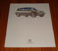 Original 1992 Suzuki Sport Utility Sales Brochure Sidekick Samurai
