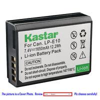 Kastar Replacement Battery for Canon LP-E10 LC-E10 & Canon EOS Kiss X90 Camera