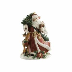 Aynsley Santa and Reindeer Large