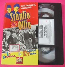 VHS film STANLIO & OLLIO La sbornia Marinai a terra IL SESTANTE (F107) no dvd