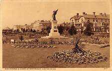 uk23335 war memorial garden and remembrance clacton on sea real photo uk