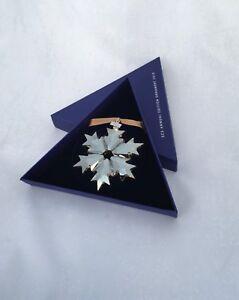 SWAROVSKI Stern-Ornament in braun Kristall Jahresausgabe 2018