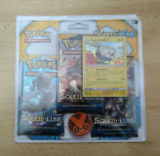 Pokemon Pack 3 boosters SL1 TOGEDEMARU neuf (Français)