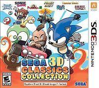 Sega 3D Classics Collection (Nintendo 3DS, 2016)