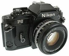 Nikon Film Camera with Lens