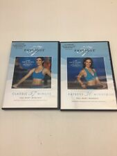 Physique 57 Lot (2) Dvds Full Body Workout Arm & Express 30 Minute Full Body