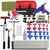 Paintless Slide Hammer Removal Dent Puller Lifter Repair Glue Gun Line Board Kit