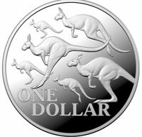 2020 RED KANGAROO 1oz Silver Proof Coin