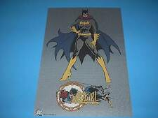 DC FEMALE HEROES BATGIRL POSTER PIN UP PRINT 11 X 16