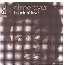 JOHNNIE TAYLOR - HIJACKIN' LOVE -  SOLO COPERTINA - ONLY COVER - EX