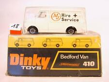 Dinky Toys 410 Bedford Van MJ Hire + Service in Box #018