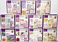 Crafter's Companion Box Kits .U Pick Stamps Dies Stencils Shaker Cards All New