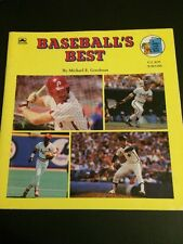 Baseball's Best Michael Goodman 1989 Mike Schmidt Nolan Ryan George Brett Ozzie