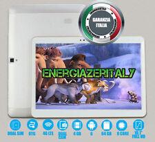 10 Zoll-Tablette 4G LTE OCTA CORE 4GB RAM 64GB ROM 6 ANDROID DOPPELSIM GPS WIFI